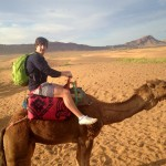 Matt on a camel