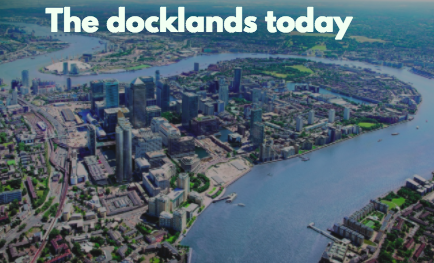 Image of east London docklands