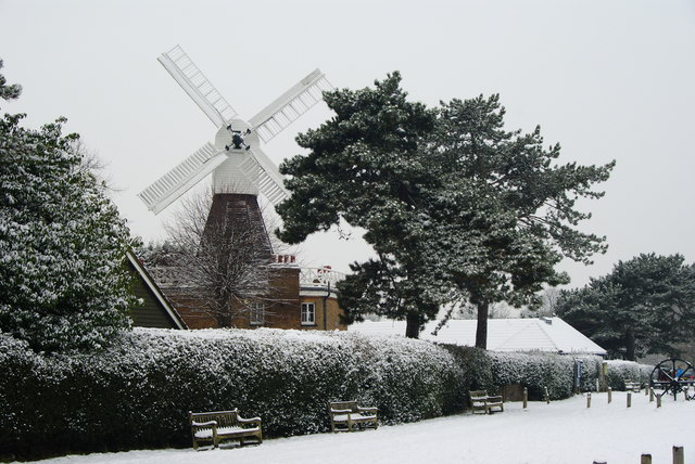 The windmill in Wimbledon Common