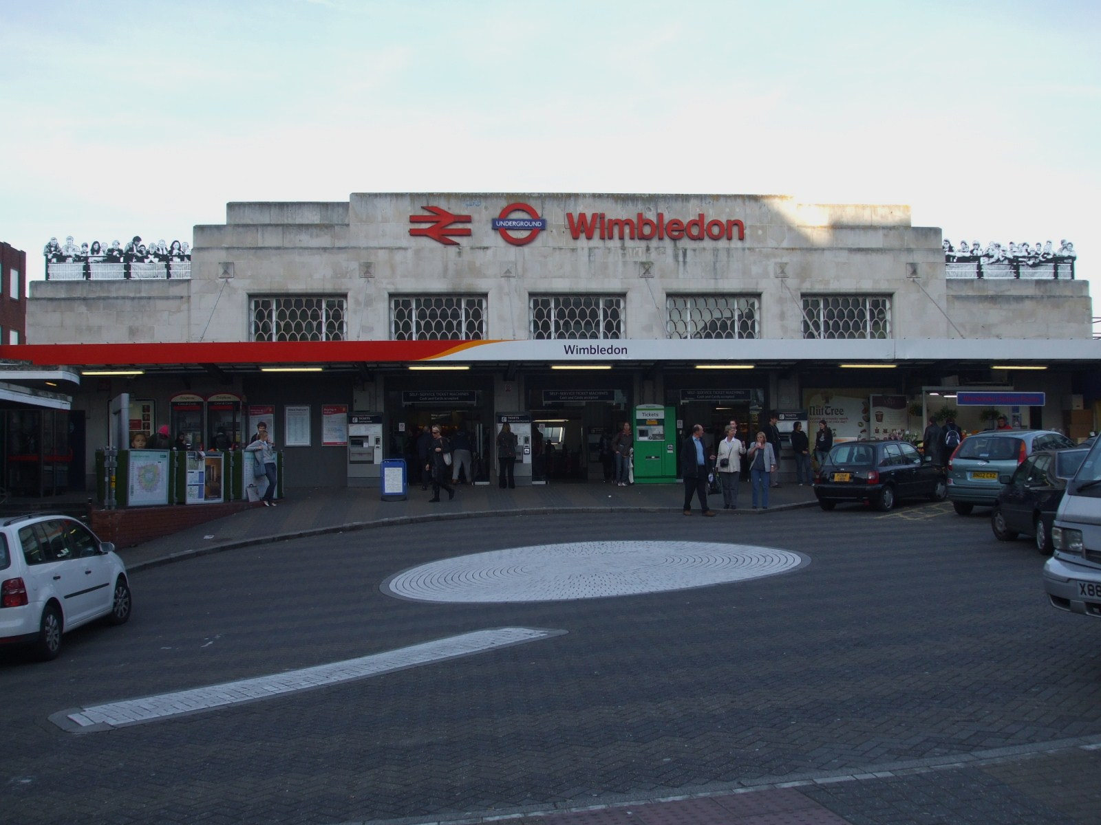 Wimbledon Station, west London