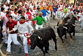 Stoke Travel Running with the Bulls