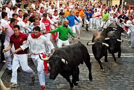 Stoke Travel Running with the Bulls