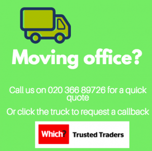 banner advert for London house movers