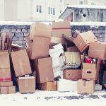 storage boxes outdoors